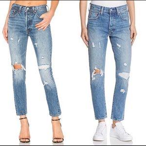 NWT Levi's 501 Skinny Jeans Size 31 X 28